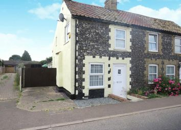 Thumbnail 2 bed semi-detached house to rent in Main Street, Hockwold, Thetford