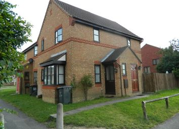 Thumbnail 1 bed terraced house to rent in Norse Road, Bedford, Beds