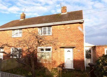 Thumbnail 3 bed semi-detached house for sale in Brattleby Crescent, Lincoln