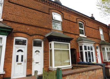 Thumbnail 2 bed terraced house for sale in Pretoria Road, Bordesley Green, Birmingham