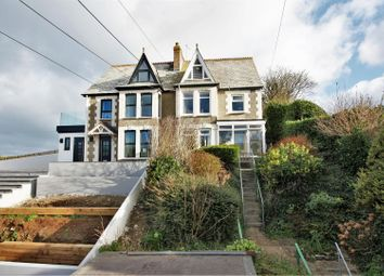 Thumbnail 5 bed semi-detached house for sale in Beach Road, Crantock, Newquay