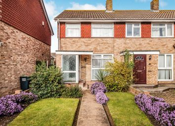 Thumbnail 2 bed semi-detached house for sale in Larkfield Close, Lancing