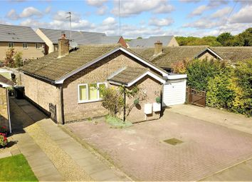 Thumbnail 4 bedroom detached bungalow for sale in Belvoir Close, Stamford