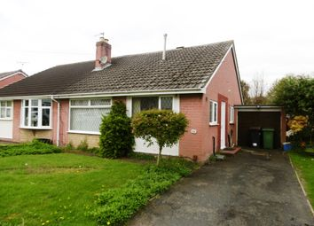Thumbnail 2 bedroom semi-detached bungalow for sale in Fieldhouse Drive, Muxton, Telford