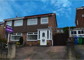 Thumbnail 3 bed semi-detached house for sale in Glenwood Drive, Manchester