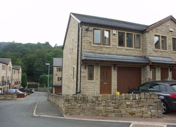 Thumbnail 4 bed semi-detached house to rent in Stoney Bank Lane, New Mill, Holmfirth