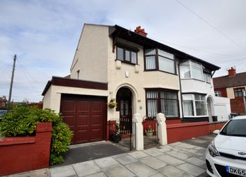 Thumbnail 3 bed semi-detached house for sale in Dinmore Road, Wallasey