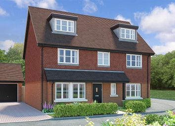 Thumbnail 5 bedroom detached house for sale in Turners Hill Road, Crawley Down, West Sussex
