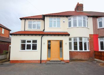 Thumbnail 4 bed semi-detached house for sale in Halkirk Road, Mossley Hill, Liverpool