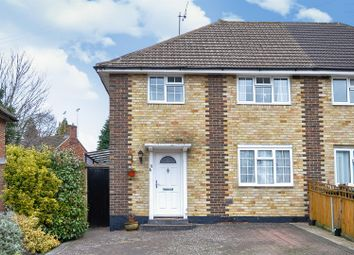 Thumbnail 3 bed semi-detached house for sale in Oveton Way, Bookham, Leatherhead