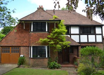 Thumbnail 4 bed detached house for sale in Farnham Road, Guildford