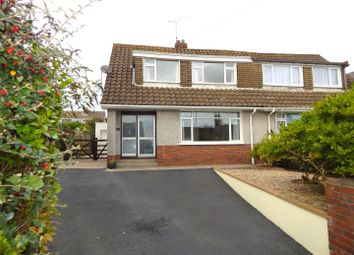 Thumbnail 3 bed semi-detached house for sale in Pennard Road, Kittle, Swansea