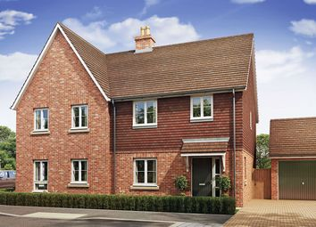 "Thumbnail 3 bed semi-detached house for sale in ""The Fincham"" at Crow Lane, Crow, Ringwood"