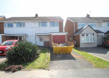 Thumbnail 3 bed semi-detached house for sale in Lyndon Close, Halesowen