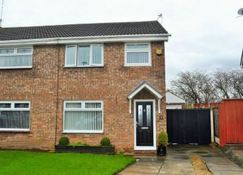 Thumbnail 3 bed semi-detached house for sale in Castleton Drive, Bootle