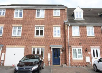 Thumbnail 4 bed terraced house for sale in Staunton Park, Kingswood, Hull