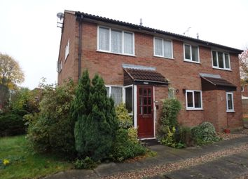 Thumbnail 1 bedroom town house for sale in Barnsdale Road, Beaumont Leys, Leicester