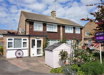 Thumbnail 3 bed semi-detached house for sale in Hailsham Close, East Preston, Littlehampton