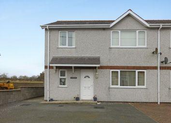 Thumbnail 3 bed semi-detached house for sale in Waunfawr, Caernarfon