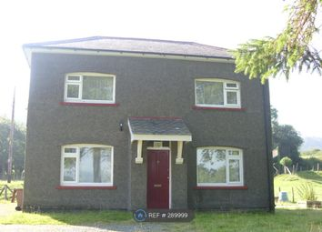Thumbnail 3 bed detached house to rent in Llangower Road, Bala