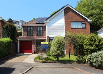 Thumbnail 5 bed detached house for sale in St Catwg Walk, Mayals, Swansea, West Glamorgan.