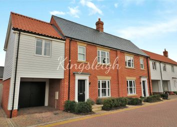 Thumbnail 3 bed semi-detached house to rent in Strawberry Avenue, Lawford, Manningtree, Essex