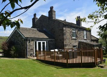Thumbnail 5 bed detached house for sale in Knoll Top Farm, Warland, Todmorden