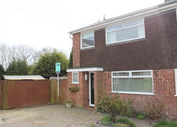 Thumbnail 3 bedroom semi-detached house for sale in Trescoe Rise, Western Park, Leicester