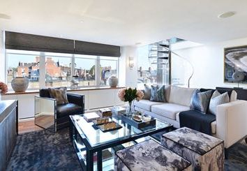 Thumbnail 3 bed flat to rent in 11-13 Young Street, London