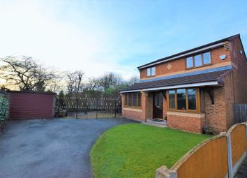 Thumbnail 3 bed detached house for sale in Waddington Close, Lowton, Warrington