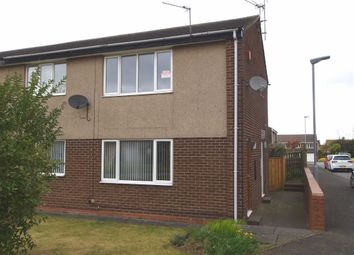 Thumbnail 2 bed flat for sale in Huntingdon Drive, Cramlington