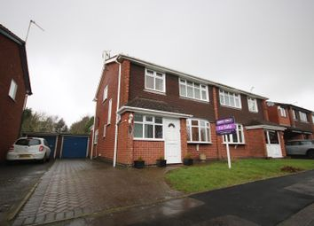 Thumbnail 4 bed semi-detached house for sale in Manderley Close, Coventry