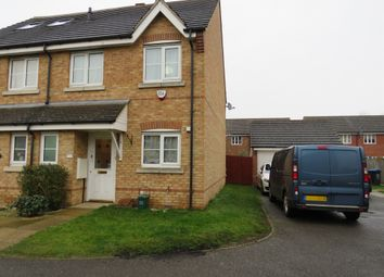 Thumbnail 3 bed semi-detached house for sale in Gorseway, Hatfield
