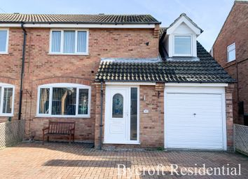 Thumbnail 4 bed semi-detached house for sale in Clover Way, Bradwell, Great Yarmouth