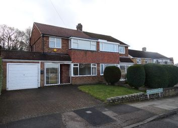 Thumbnail 3 bed semi-detached house to rent in Hollingworth Road, Petts Wood, Bromley