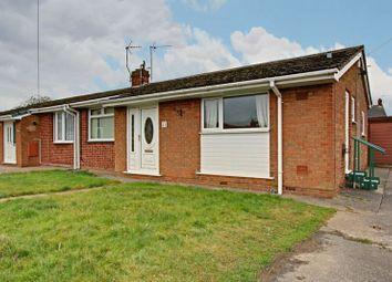 Thumbnail 2 bed semi-detached bungalow for sale in Monkton Close, Cottingham