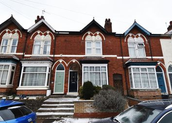 Thumbnail 3 bed terraced house to rent in Beaumont Road, Birmingham