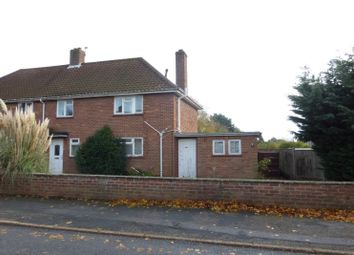 Thumbnail 3 bed semi-detached house for sale in Woodland Road, Hellesdon, Norwich, Norfolk