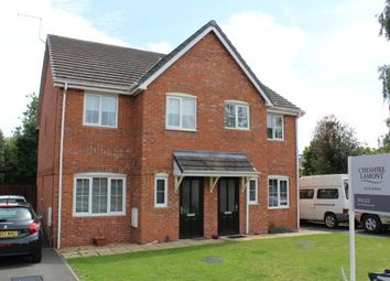 Thumbnail 3 bed semi-detached house to rent in Meadow View, Willaston, Nantwich, Cheshire