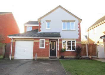 Thumbnail Detached house for sale in El Alamein Way, Bradwell, Great Yarmouth