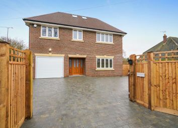 Thumbnail 5 bed detached house to rent in Woodham Road, Horsell, Woking, Surrey