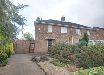 Thumbnail 3 bed semi-detached house for sale in Arleston Drive, Wollaton, Nottingham