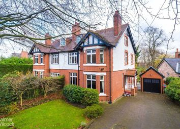 Thumbnail 5 bed semi-detached house for sale in Hazelhurst Road, Worsley, Manchester