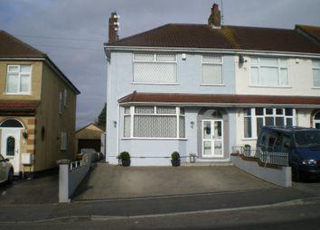Thumbnail 3 bed property for sale in Launceston Avenue, Hanham, Bristol
