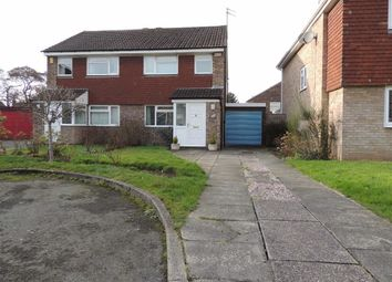 Thumbnail 3 bed semi-detached house for sale in Alston Close, Hazel Grove, Stockport