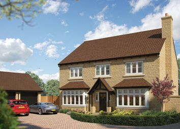 "Thumbnail 5 bed detached house for sale in ""The Oak"" at Southam Road, Radford Semele, Leamington Spa"