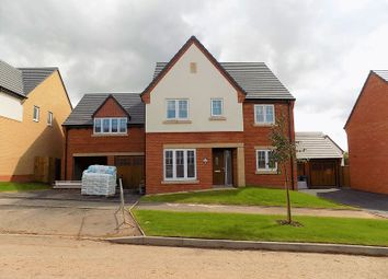Thumbnail 5 bed detached house for sale in Daffodil Drive, Gnosall, Stafford