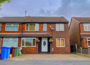 Thumbnail 4 bed semi-detached house for sale in Anson Road, Denton, Manchester