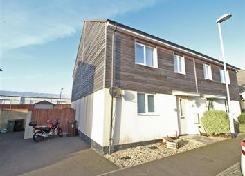 Thumbnail 3 bedroom semi-detached house for sale in Samuel Bassett Avenue, Plymouth, Devon