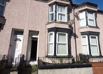 Thumbnail 3 bedroom terraced house to rent in Scott Street, Bootle